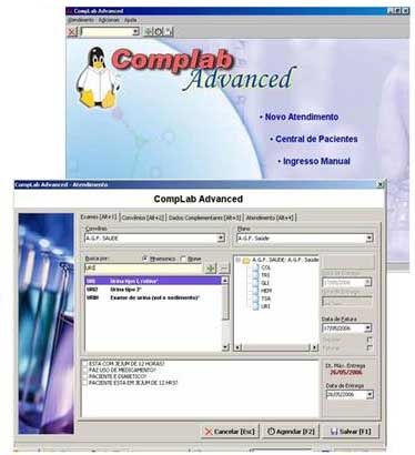software laboratorio - complab advanced